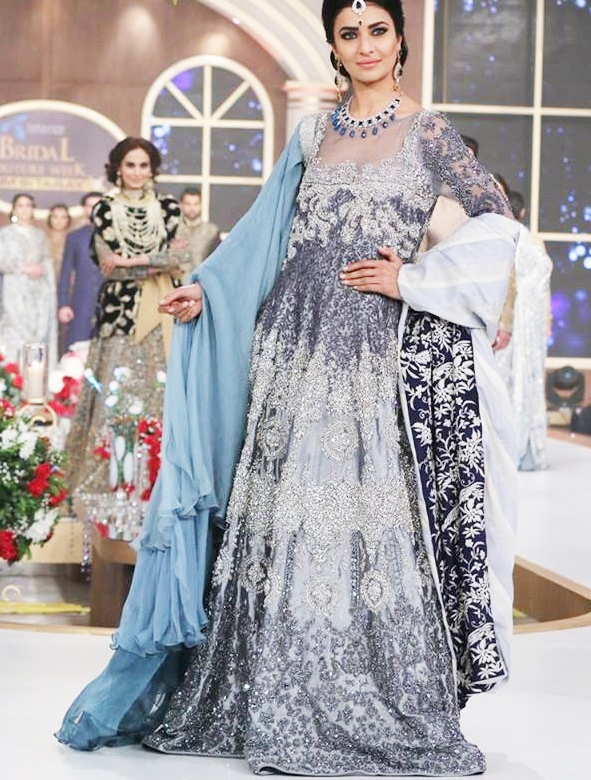 Best Designs Wedding Wear Anarkali Frocks Top Hit Fashion