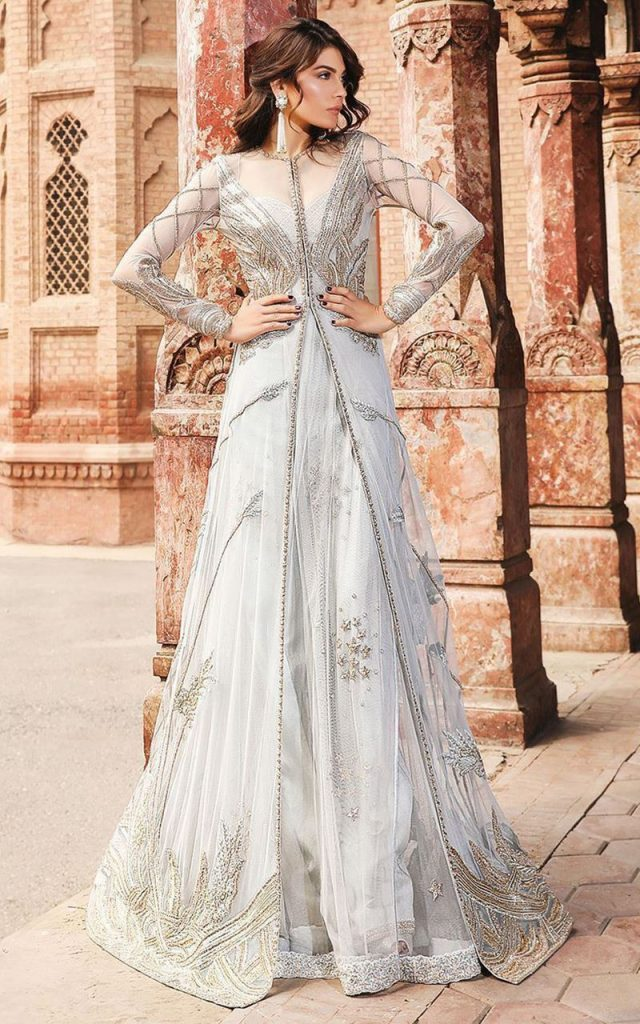Designs Pakistani Bridal Shower Dresses Top Hit Fashion,Wedding Attractive Beautiful Night Dresses