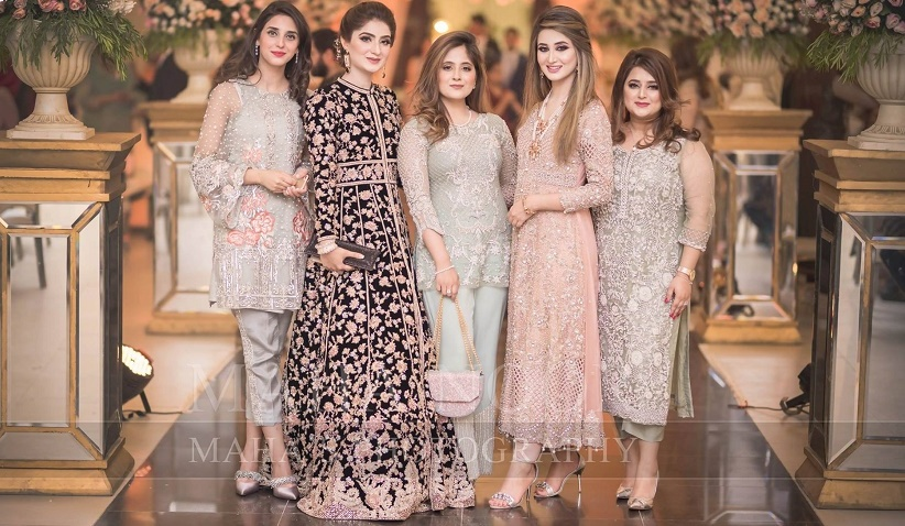 Latest Designs Zoya Embroidered Dresses Top Hit Fashion