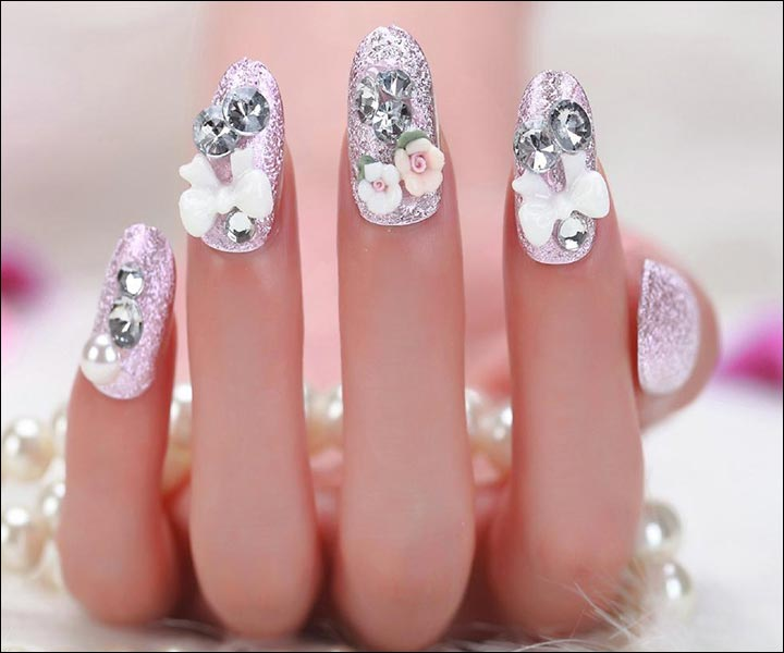 Fashion Nails Designs For Indian Brides Top Hit Fashion